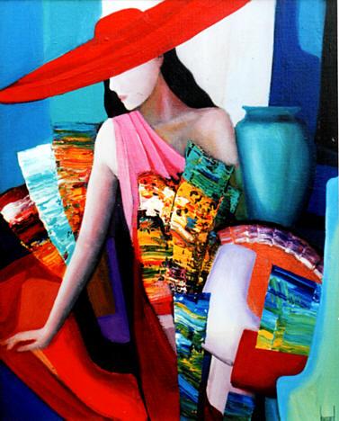 Galerie d 39 art de la haute couture artiste peintre dugourd - La mode en peinture ...